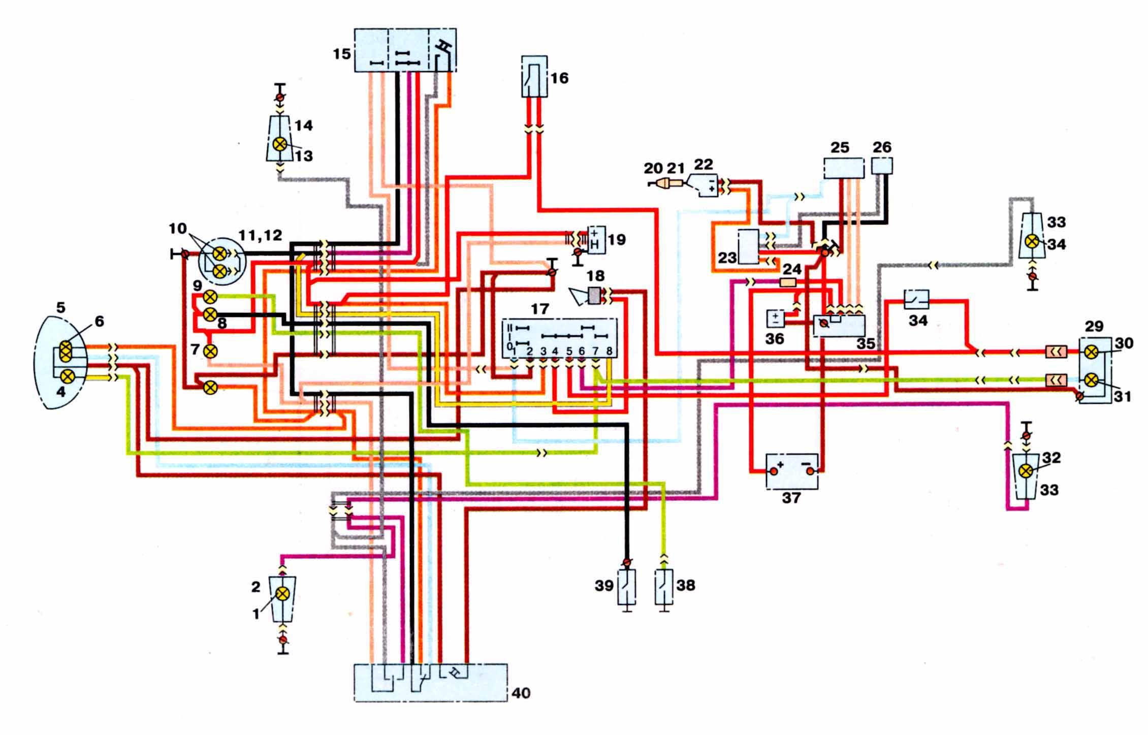 принципиальная схема устройства трансформатора