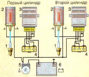 иж электрическая схема