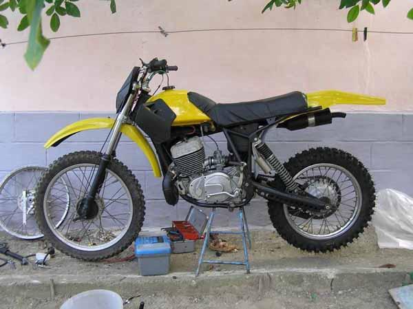 Мотоцикл на AxiPro