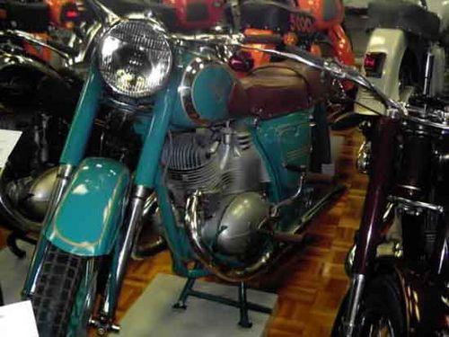 Мотоцикл с алюминиевым цилиндром