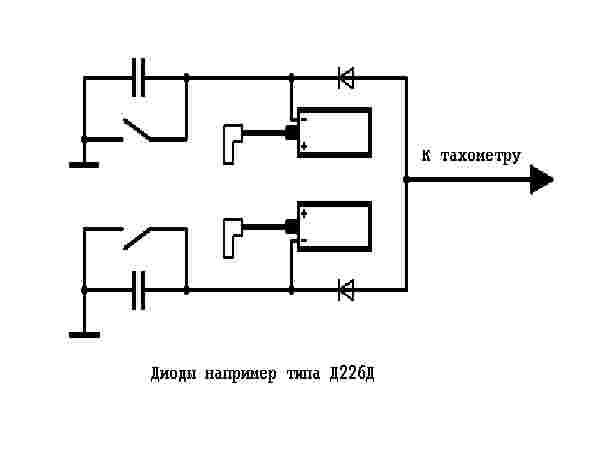 схеме 8-ный тахометр.