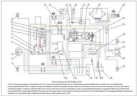 Рис.15- Схема электрическая